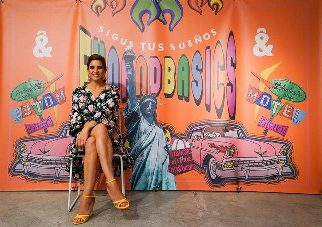 Lucía Jiménez, en la presentación Fun & Basics