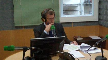 Feijóo dice que Sánchez debe proponer una coalición de Gobierno o un pacto de Legislatura al PP si no se fía de Podemos