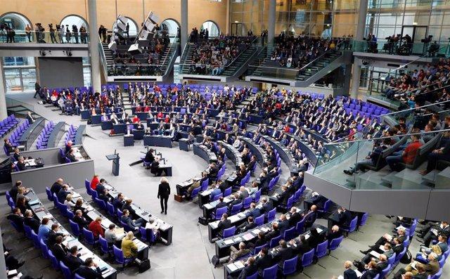 Cámara Baja del Parlamento alemán (Bundestag)