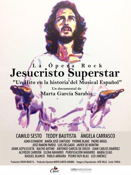 Cines de 5 provincias recordarán a Camilo Sesto con el reestreno del documental sobre el musical 'Jesucristo Superstar'