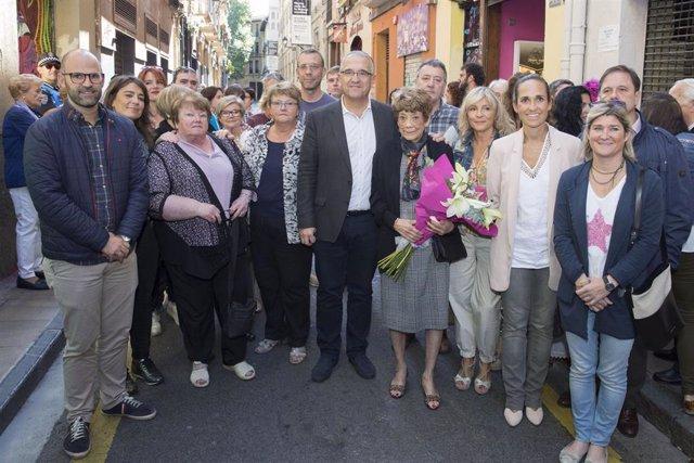 Homenaje a Iñaki Astondoa, miembro fallecido del grupo Los Iruña'ko.