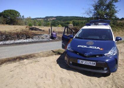 La Policía atribuye el origen del incendio de Monforte a tareas agrícolas y eleva las hectáreas quemadas a 706