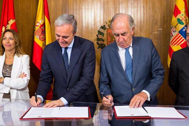 El Ayuntamiento de Zaragoza e Ibercaja se unen para hacer de la ciudad un referente europeo en movilidad sostenible.