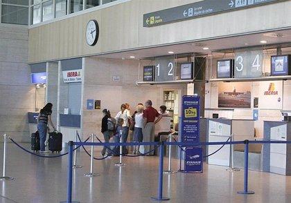 Los aeropuertos de Valladolid y Salamanca perdieron pasajeros en agosto