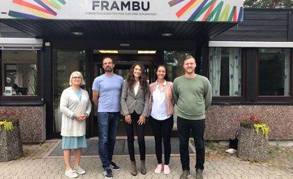 FEDER visita un centro de atención de personas con enfermedades poco frecuentes en Noruega