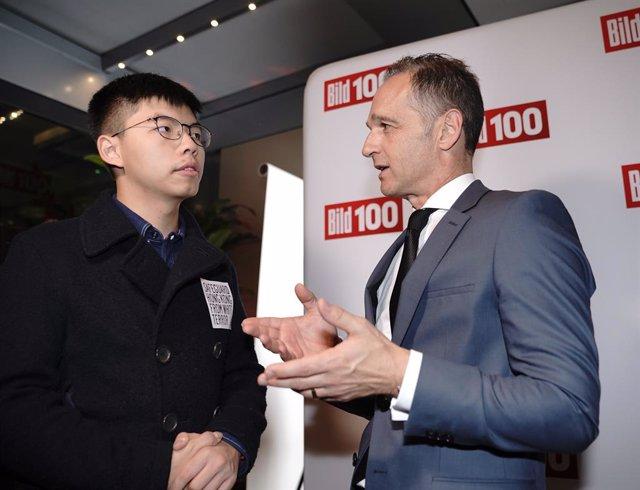 China.- El ministro de Exteriores alemán defiende su encuentro con un activista