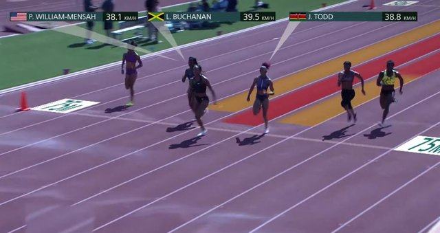 Intel muestra las tecnologías que medirán la velocidad de los atletas en los JJO