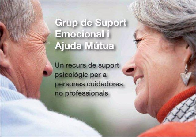 Grupos de apoyo a personas cuidadoras impulsados con la Diputación de Barcelona