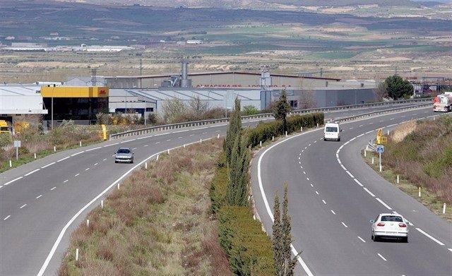 AP-68 a su paso por La Rioja