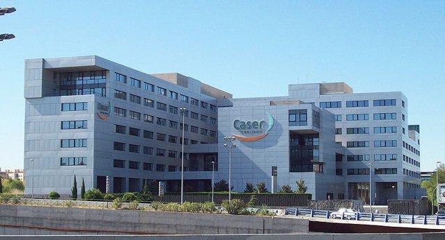 Edificio sede de Caser en Madrid.