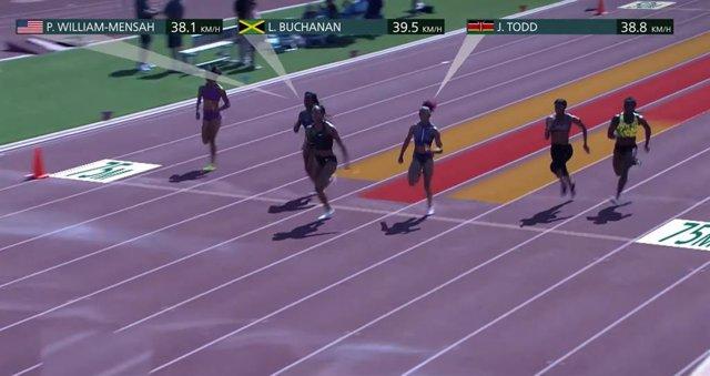 JJ.OO.- Intel muestra las tecnologías que medirán la velocidad de los atletas en