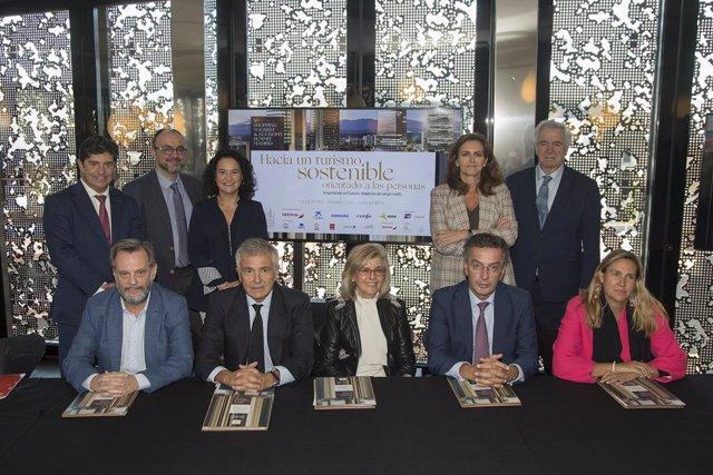 Rueda de prensa de presentación del Summit Shopping Tourism and Economy Madrid 2019