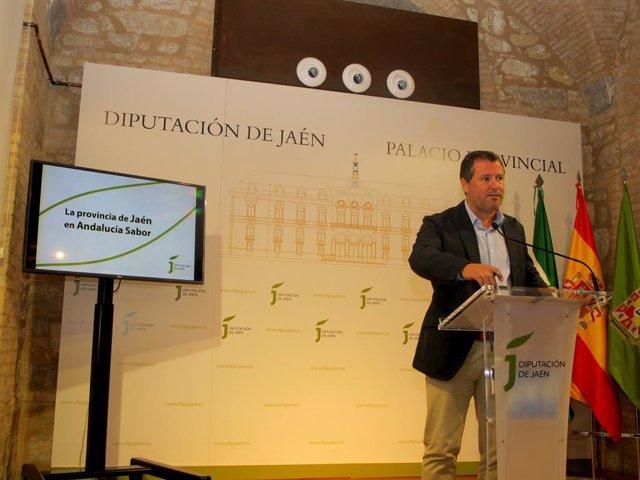 Presentación de la presencia de la provincia de Jaén en Andalucía Sabor.