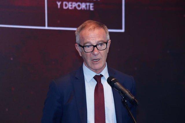 El ministro de Cultura y Deporte en funciones, José Guirao