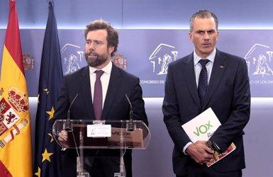 Vox demana contruir un mur a Ceuta i Melilla i permetre als agents fronterers utilitzar material antiavalots (Eduardo Parra - Europa Press)