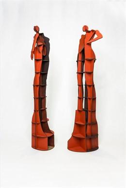 Intervención del arquitecto y artista Sebastián Bayo, en el comercio Mandarina