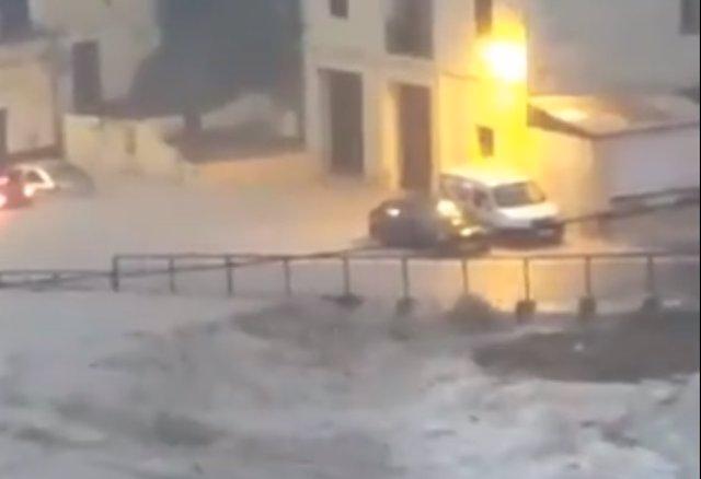 LLuvias torrenciales en Ontinyent
