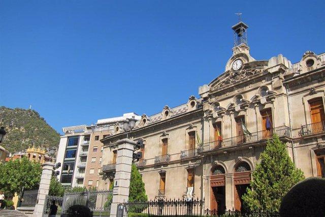 Fachada de la Diputación de Jaén