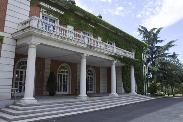 Vista del Palacio de la Moncloa