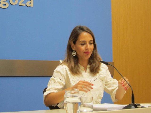 La consejera municipal de Hacienda y Régimen Interior, María Navarro.