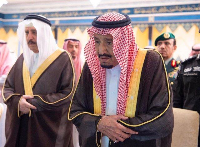Rey Salmán de Arabia Saudí