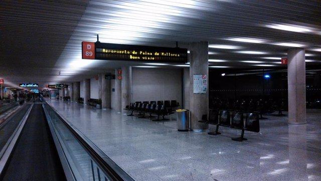 El Aeropuerto de Palma (Son Sant Joan).