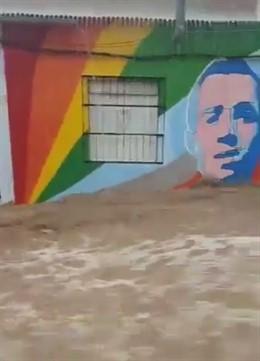 Inundación en Orihuela