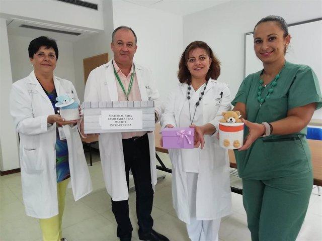 Equipo de Enfermería del Virgen de las Nieves
