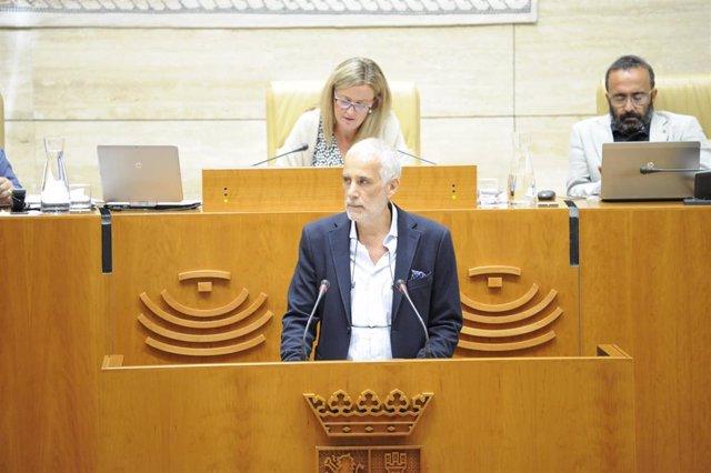El diputado socialista Vicente Valle