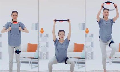 Nintendo presenta los accesorios de Ring Fit Adventure para jugar a Switch sin mandos mediante ejercicio físico