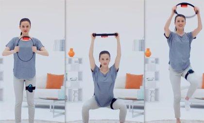 Portaltic.-Nintendo Switch presenta los accesorios de Ring Fit Adventure para jugar sin mandos mediante ejercicio físico