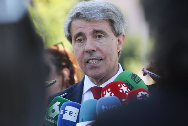 Imagen de recurso del consejero de Transportes de la Comunidad de Madrid, Ángel Garrido