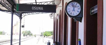 """El PP pide que el Gobierno aclare si prepara """"recortes"""" en los trenes de Osuna, Marchena y Pedrera"""