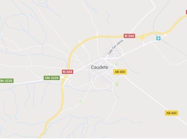 Imagen de Caudete en Google Maps