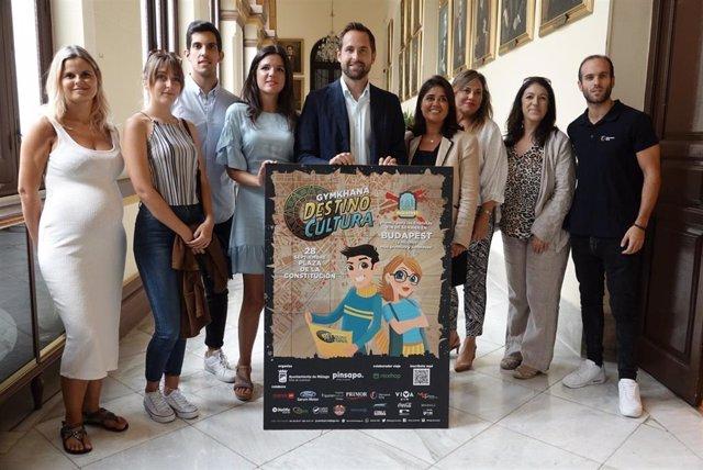 Yincana presentada en el Ayuntamiento de Málaga