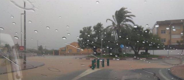 Lluvias en Orihuela