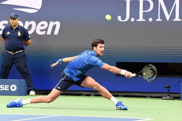 """Tenis.- Djokovic sigue trabajando en la recuperación de su hombro y confía en """"e"""