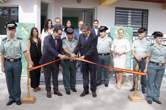 Inauguración de la Casa Cuartel de Adra tras su remodelación