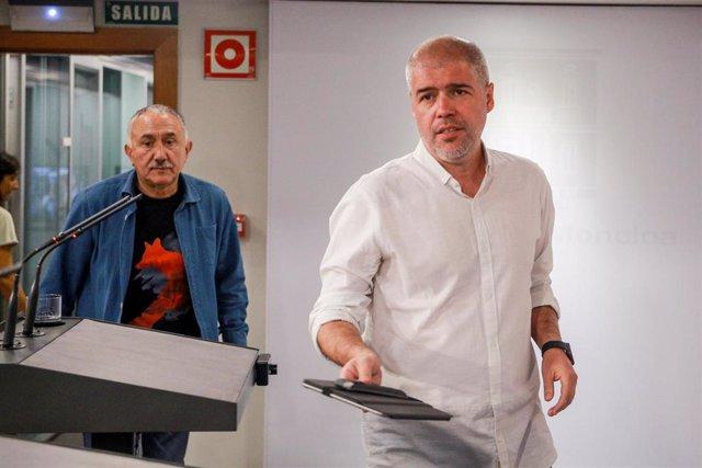 Pepe Álvares y Unai Sordo