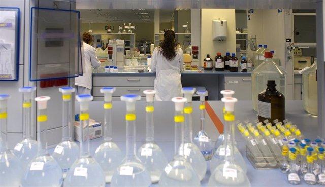 Laboratorio, investigadora