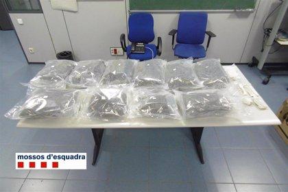 Detenido un vecino de Terrassa (Barcelona) con 15 kilogramos de marihuana en la furgoneta