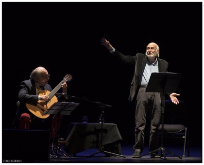 Argentina.- Héctor Alterio intrepretará el espectáculo de poesía y música 'Como hace 3000 años...' en los Teatros del Canal