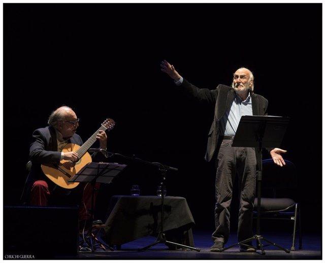 Héctor Alterio intrepretará el espectáculo de poesía y música 'Como hace 3000 añ
