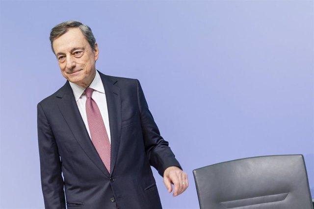 ECB press conference in Frankfurt