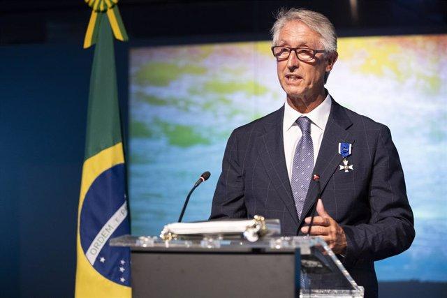 Economía.- Javier Mirallas, nombrado Oficial de la Orden de Rio Branco por el Go