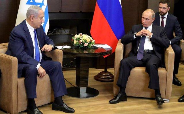 Rusia/Israel.- Netanyahu avisa a Putin de que Israel no tolerará ataques de Irán
