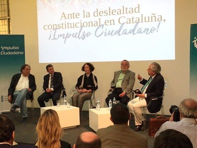 Presentación en Madrid de la asociación Impulso Ciudadano