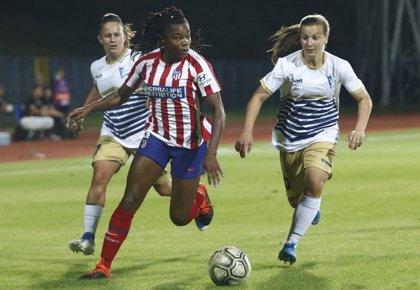 El Atlético saca un triunfo sufrido de Subotica en los dieciseisavos de la Champions League femenina