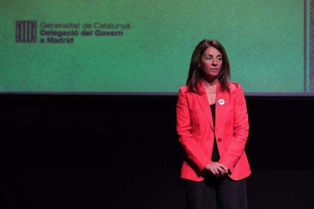 La consellera catalana de la Presidencia preside el acto institucional de la Diada de Cataluña en Madrid