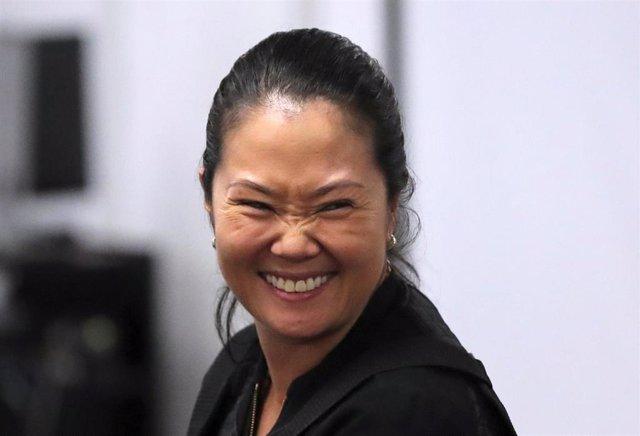 La líder opositora peruana Keiko Fujimori